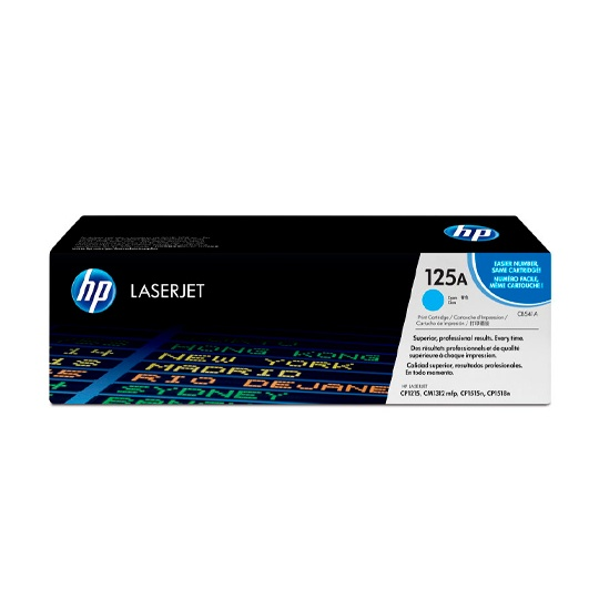 TONER HP 125A CB541A COLOR CYAN