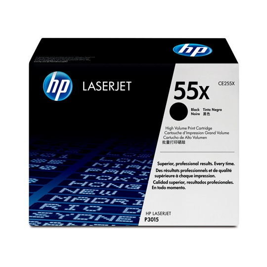 TONER HP 55X CE255X COLOR NEGRO