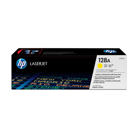 TONER HP 128A CE322A COLOR AMARILLO