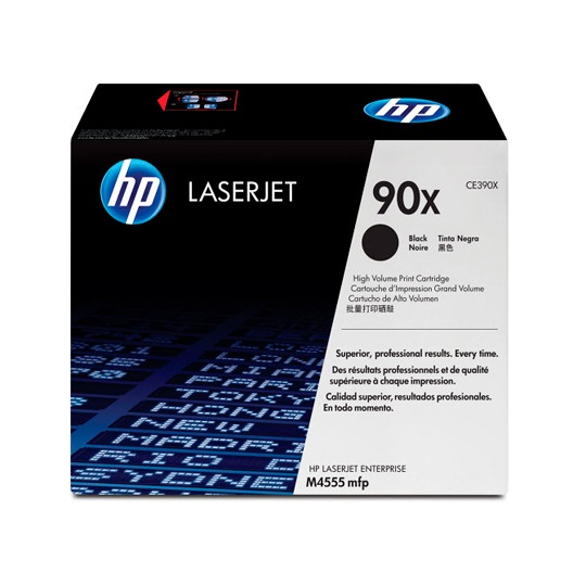 TONER HP 90X CE390X COLOR NEGRO