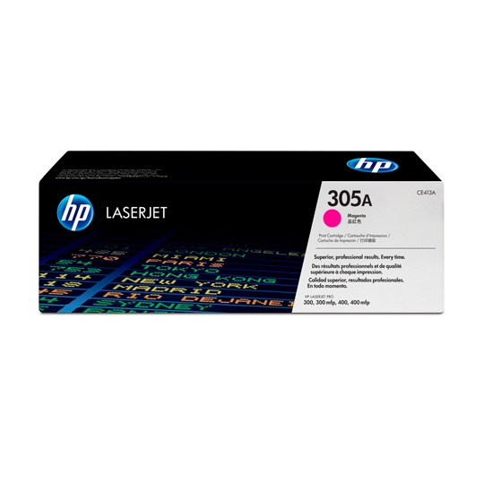 TONER HP 305A CE413A COLOR MAGENTA