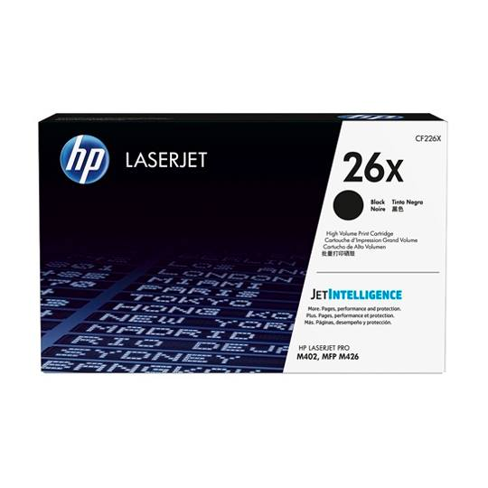 TONER HP 26X CF226X COLOR NEGRO