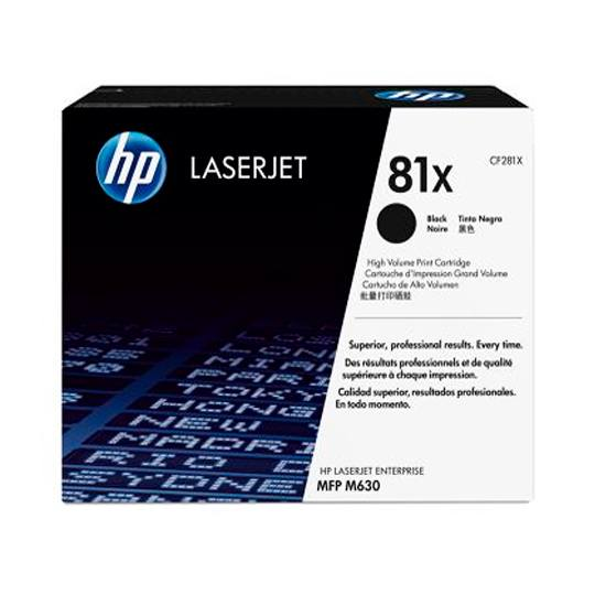 TONER HP 81X CF281X COLOR NEGRO