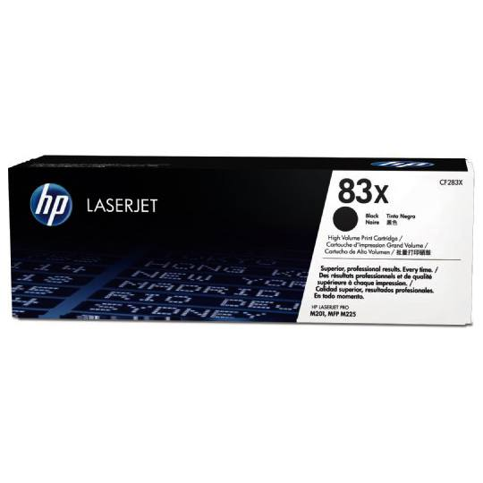 TONER HP 83X CF283X COLOR NEGRO
