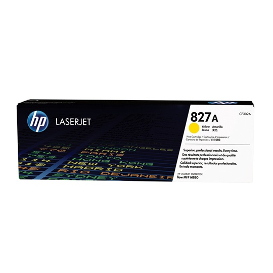 Lm-hp 827a yellow laserjet toner cartrid