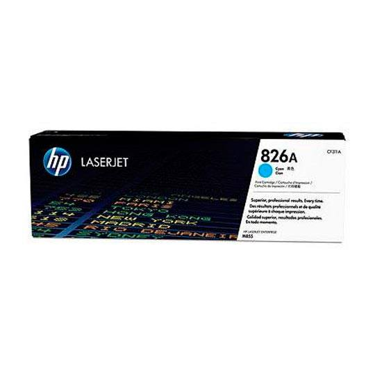 TONER HP 826A CF311A COLOR CYAN