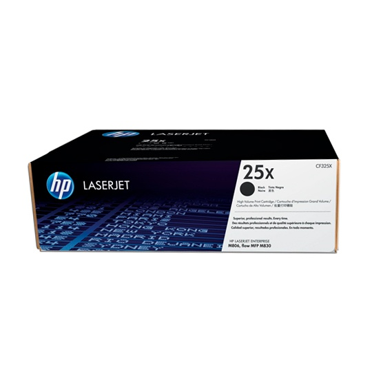 TONER HP 25X CF325X COLOR NEGRO