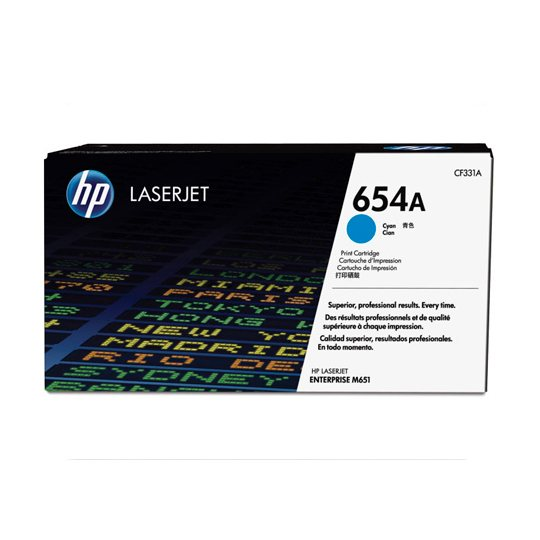 TONER HP 654A CF331A COLOR CYAN
