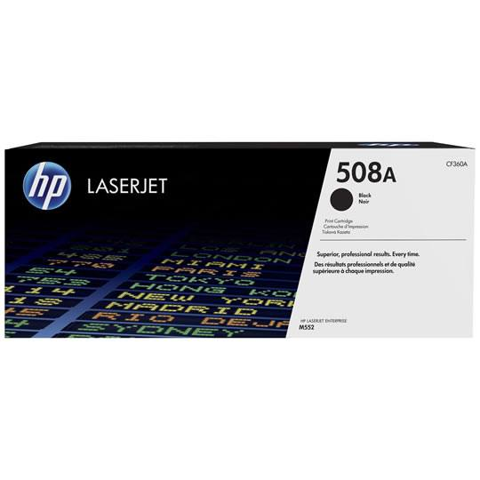 TONER HP 508A CF360A COLOR NEGRO