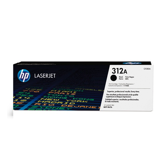 TONER HP 312A CF380A COLOR NEGRO