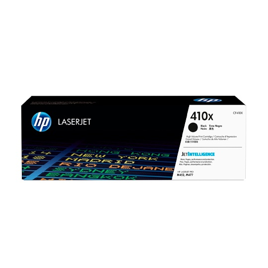 TONER HP 410X CF410X COLOR NEGRO