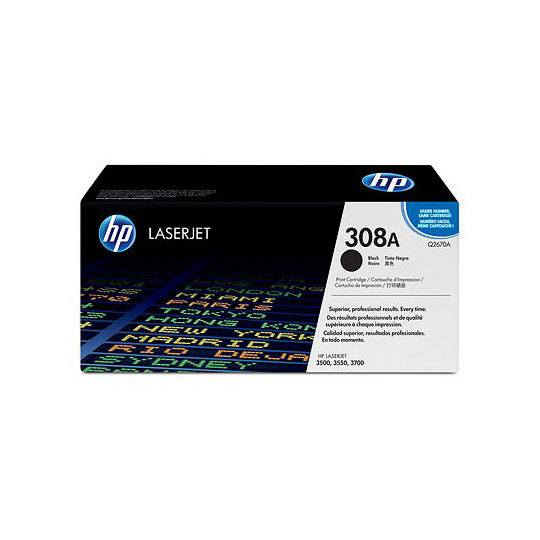 TONER HP 308A Q2670A COLOR NEGRO