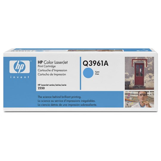 TONER HP 122A Q3961A COLOR CYAN