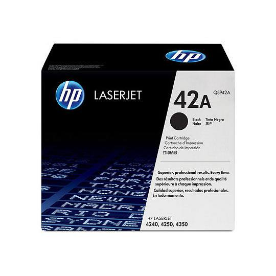 TONER HP 42A Q5942A COLOR NEGRO