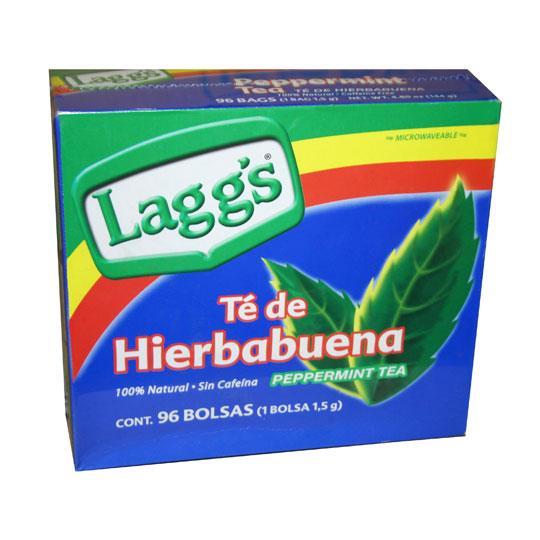Compra te de hierbabuena lagg s numero de sobres por caja 96 en m xico en - Marcas de te ...