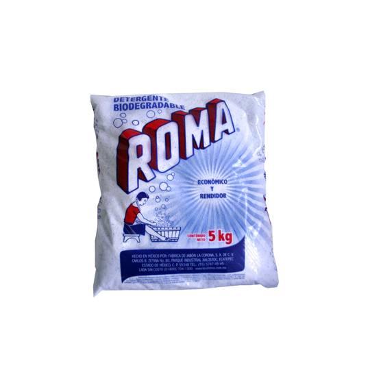 DETERGENTE EN POLVO ROMA 5 KG