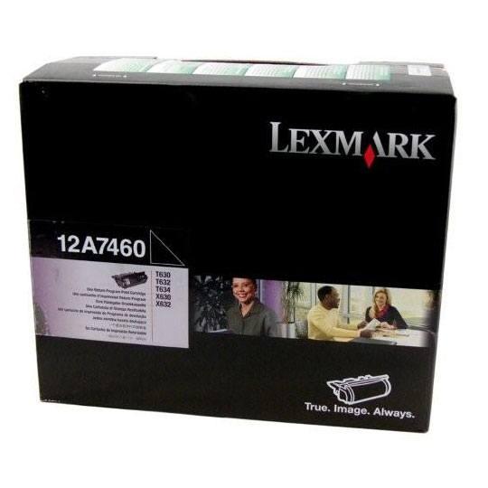 TONER LEXMARK 12A7460 12A7460 COLOR NEGRO