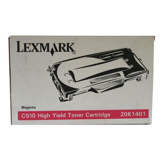 TONER LEXMARK 20K1401 20K1401 COLOR MAGENTA