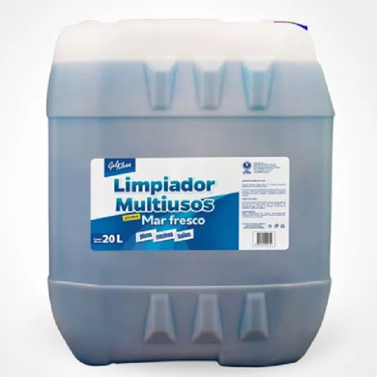 LIMPIADOR MULTIUSO GEL KLEEN MAR FRESCO 20 L