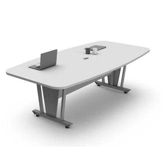 Compra mesa junta linea italia 118xl de melamina color blanco en m xico en - Mesa de juntas ...