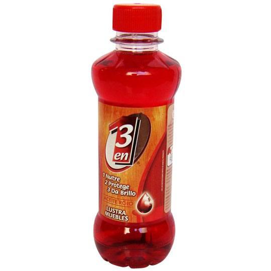 Compra aceite para muebles 3 en 1 tipo lustrador rojo de - Aceite para muebles ...