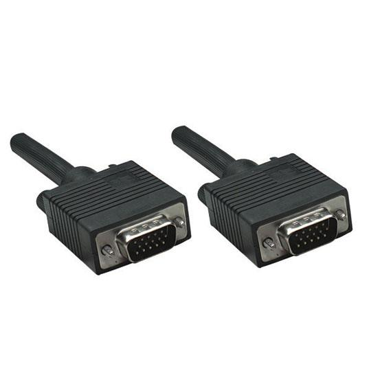 CABLE VGA MACHO A MACHO MANHATTAN COLOR NEGRO DE 11 METROS 371377
