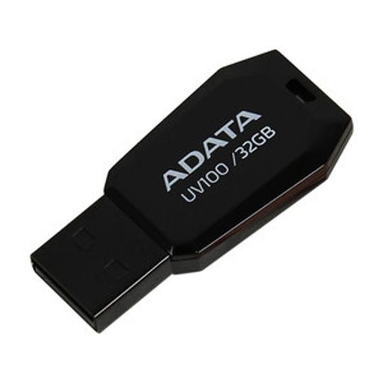 MEMORIA USB 2.0 ADATA UV100 DE 32 GB NEGRO