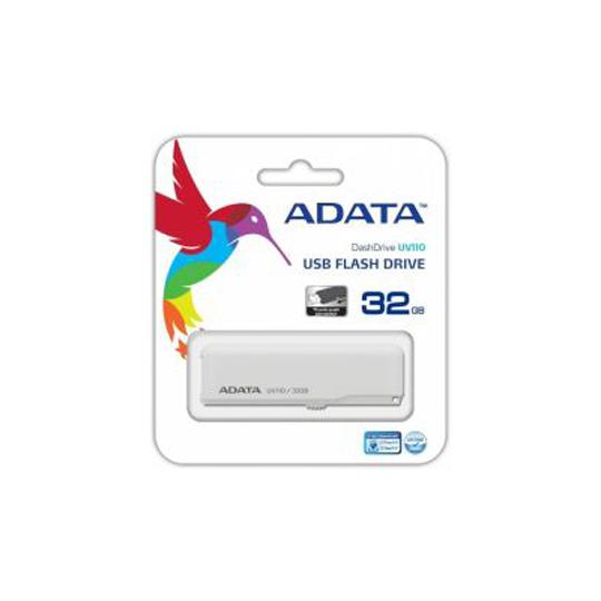 MEMORIA USB 2.0 ADATA UV110 DE 32 GB BLANCO