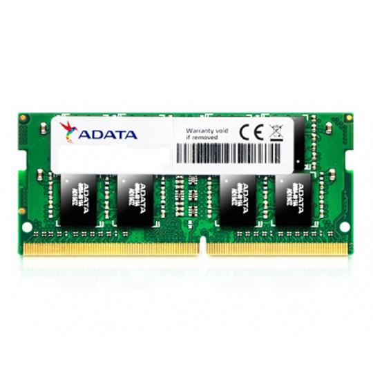 MEMORIA RAM TIPO GENERICA ADATA DE 4 GB EMBALAJE SODIMM TECNOLOGIA DDR4 VELOCIDAD DE 2400 MHZ