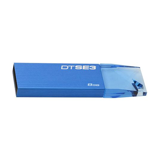 MEMORIA USB 2.0 KINGSTON DTSE3 DE 8 GB AZUL