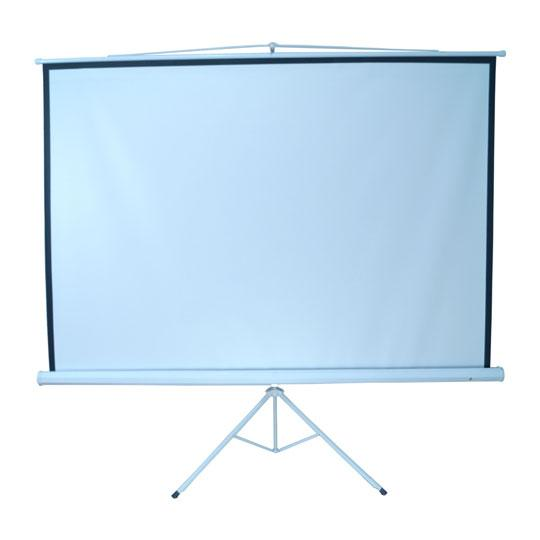 PANTALLA PARA PROYECCION MULTIMEDIA SCREENS MST-244 COLOR BLANCO MATE DE 96 PULGADAS