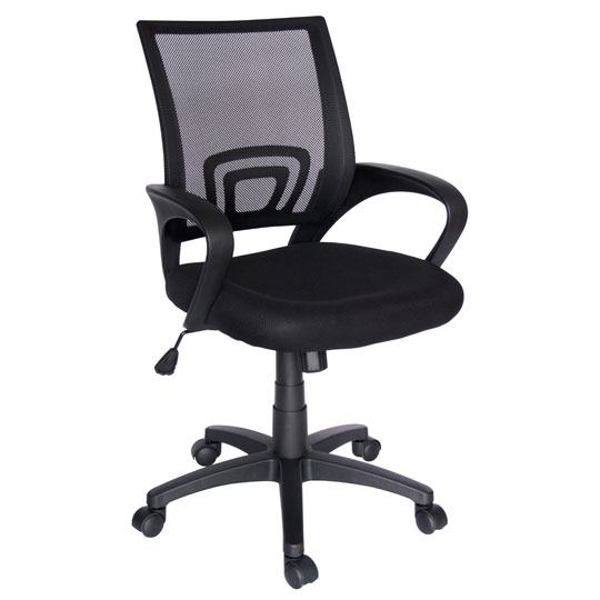 SILLA EJECUTIVA OFFIHO ECO-CHAIR COLOR NEGRO