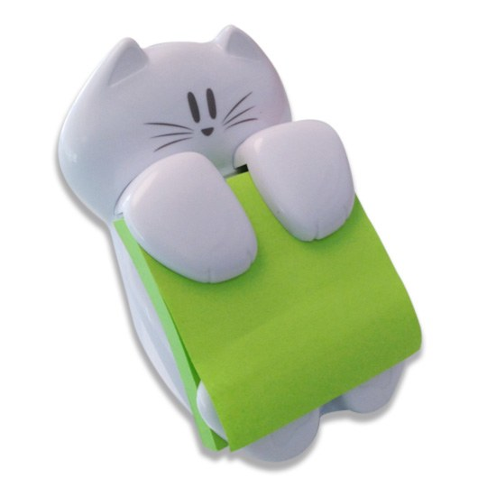 Despachador forma de gato pos-it,1pza