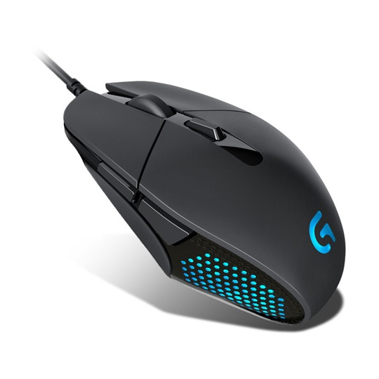 MOUSE GAMING ALAMBRICO LOGITECH G302 CONEXION USB COLOR NEGRO Y AZUL