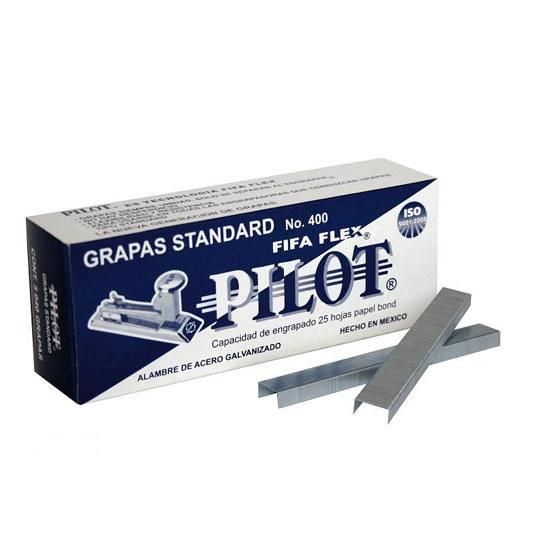 GRAPA STANDAR PILOT FIFA 4000 26/6 PULGADA CAJA CON 5040 GRAPAS