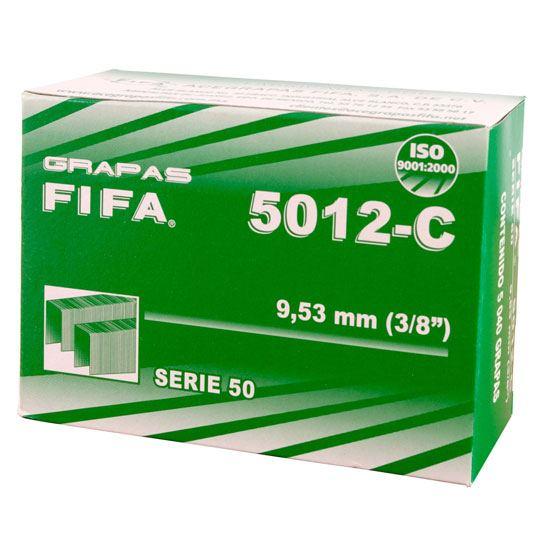 GRAPA STANDAR PILOT FIFA 5012C DE 3/8 PULGADA CAJA CON 5040 GRAPAS