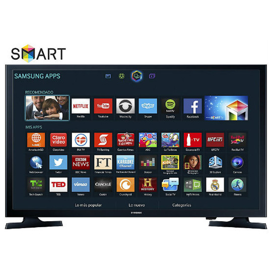 PANTALLA SAMSUNG UN-32J4300 SMART TV LED HD 32 PULGADAS