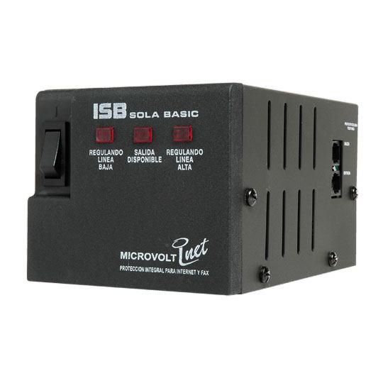 REGULADOR SOLA-BASIC DN-21-122 CAPACIDAD 1200 VA NUMERO DE CONTACTOS 4 USO MULTIFUNCIONAL