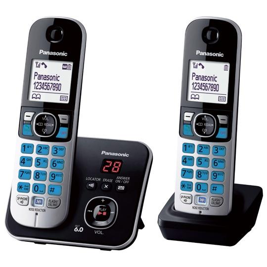 TELEFONO INALAMBRICO PANASONIC TG6822MEB 1 LINEA
