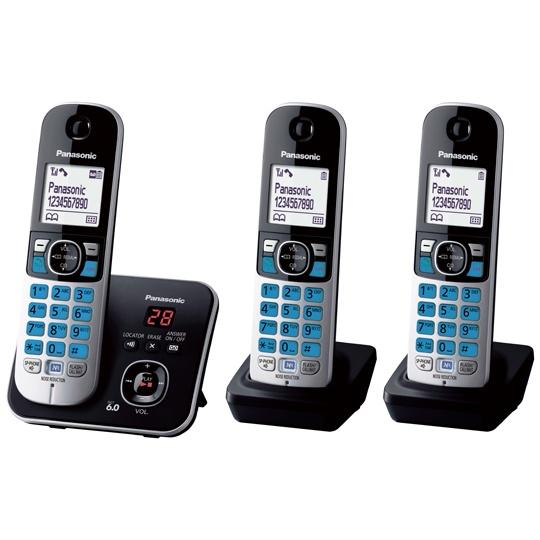 TELEFONO INALAMBRICO PANASONIC TG6823MEB 1 LINEA