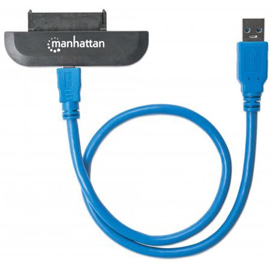 CONVERTIDOR DE MEDIOS MANHATTAN 130424 USB A SATA