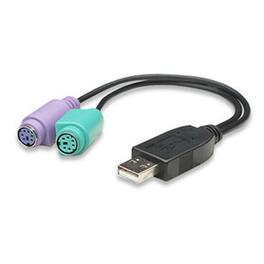CONVERTIDOR DE SEÑAL MANHATTAN 179027 USB A PS/2