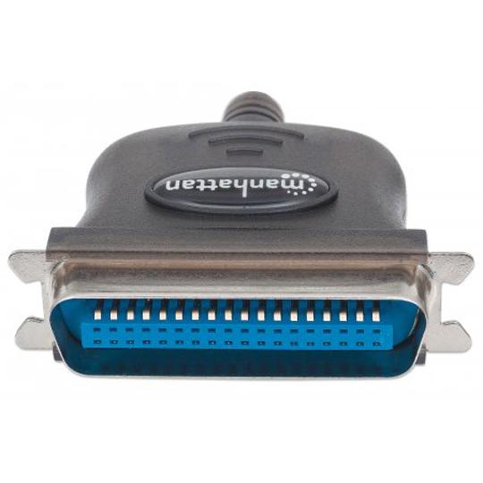 CONVERTIDOR DE SEÑAL MANHATTAN USB A PARALELO EN FORMA DE CABLE 317474
