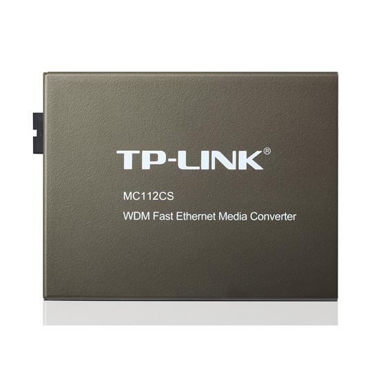 CONVERTIDOR DE MEDIOS TP LINK MC112CS WDM