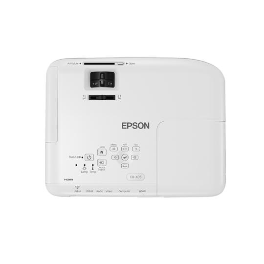 PROYECTOR EPSON POWERLITE X05 3300 LUMENES XGA HDMI/MEMORIA USB/X1 (USB DISPLAY)