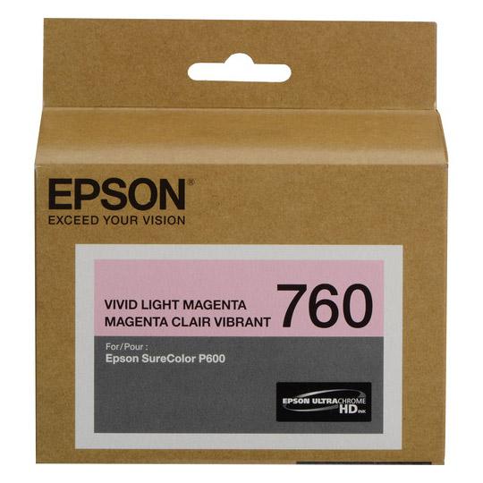 TINTA EPSON 760 COLOR MAGENTA T760620