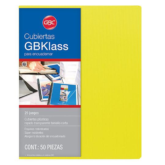 Cubiertas rayadas amarillo GBKlass