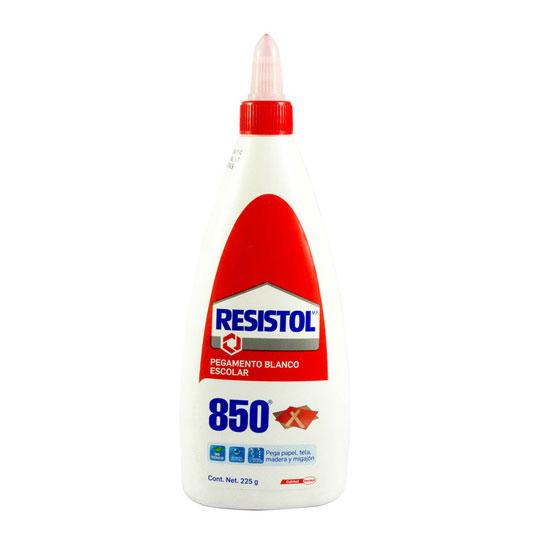 PEGAMENTO LIQUIDO HENKEL RESISTOL  850 COLOR BLANCO 225 GR