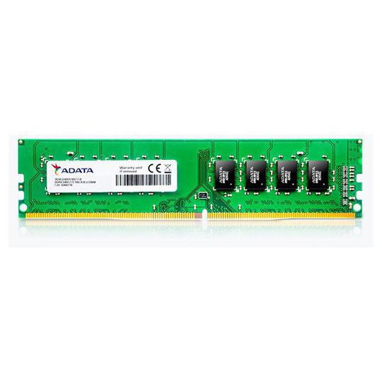 MEMORIA RAM TIPO GENERICA ADATA DE 8 GB EMBALAJE U-DIMM TECNOLOGIA DDR4 VELOCIDAD DE 2400 MHZ