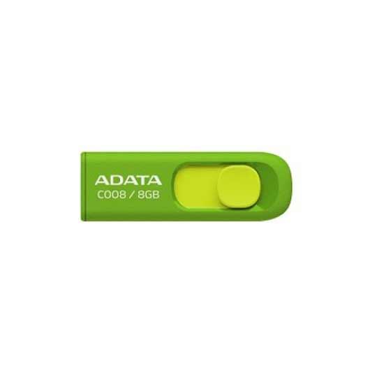 MEMORIA USB 2.0 ADATA C008 DE 8 GB VERDE